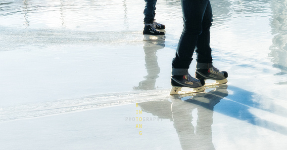 Skating on Melting Rink