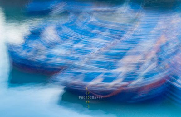 FIshing Boats Abstract