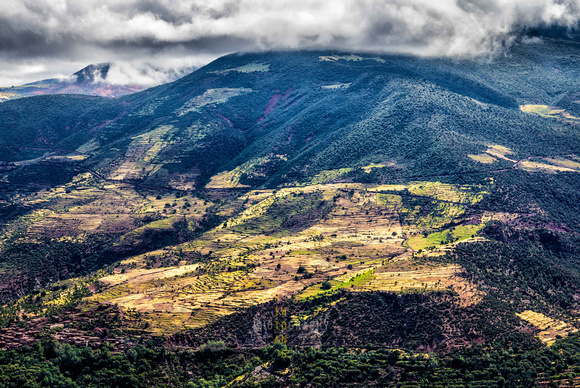 View from High Atlas Mountains