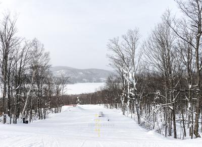 Snowboarding Hill