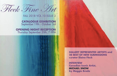 Fleck Fine Art Catalogue Fall 2018 - cover