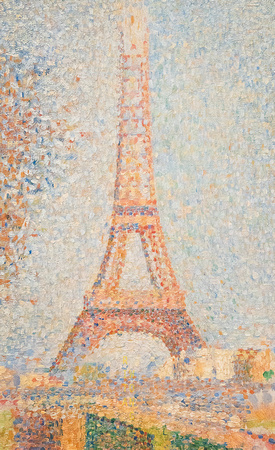 Eiffel Tower (Georges Seurat)