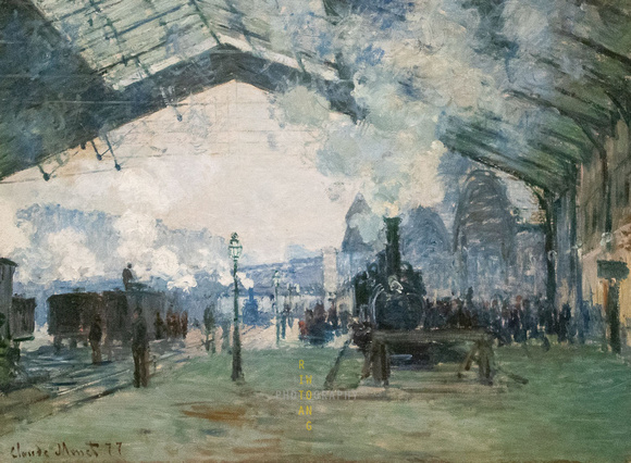 Arrival of the Normandy Train, Gare Saint-Lazare (Claude Monet)
