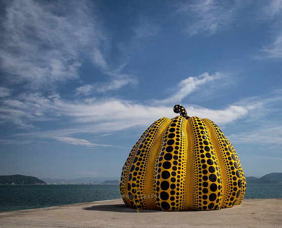 Kusama Yellow Pumpkin