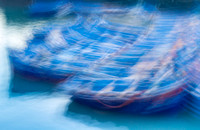 FIshing Boats Abstract