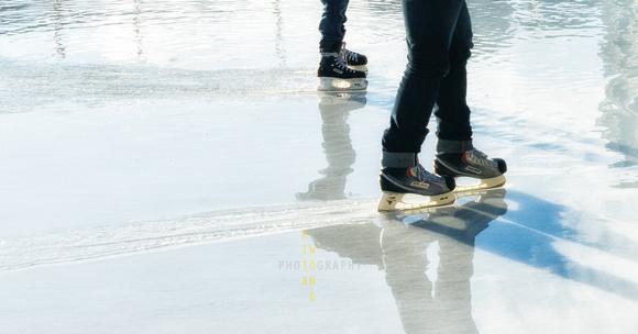 Skating on Melting Rink