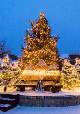 Festive Lights at Mont Tremblant