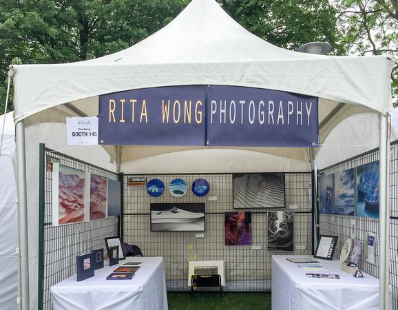 Riverdale ArtWalk 2018 Booth