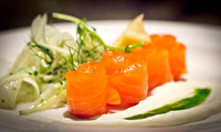 Salmon Rolls with Fennel Salad